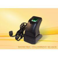 Buy cheap Portable Biometric fingerprint reader device , thumbprint security usb reader product