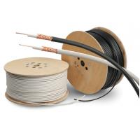 Buy cheap PVC Sheath Copper Coaxial Cable RG59/U Type Cctv Coaxial Cable PE Dielectric from wholesalers