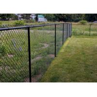 Buy cheap 6 ft x 50 ft Chain Link Fence Mesh , 11.5 Gauge Galvanized Steel Chain Link Fabric from wholesalers