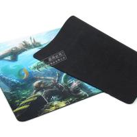 latest custom soft rubber mouse mat/ pad for gaming