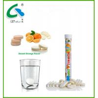 Buy cheap high quality  effervescent multivitamin tablet with GMP certificates from wholesalers