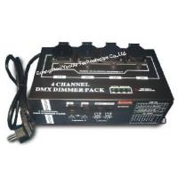Buy cheap 4 Channels DMX Dimmer Pack / Professional LED Stage Lighting Dimmer Packs from wholesalers