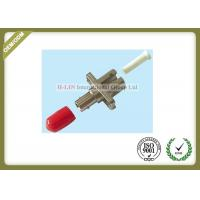 China Metal Fiber Optic ST To LC Fiber Converter Adapter Simplex , ST To LC Fiber Connector on sale