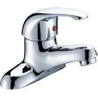 Buy cheap Chrome Polished Two Hole Bathroom tap for Ceramic Basin , Single Lever from wholesalers