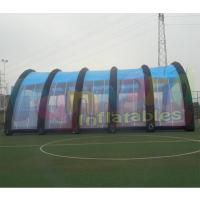 Wholesale Customized Mobile Lnflatable Paintball Tent Waterproof And Fire Retardant from china suppliers