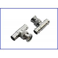 Buy cheap Bnc male T-type adapter RF coaxial connector from wholesalers