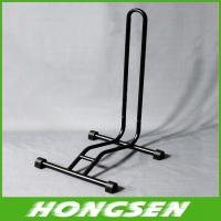 Buy cheap Floor display stand bicycle parking stand foldable bike repair stand from wholesalers