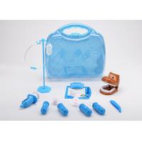 Buy cheap 12 Pcs Toddler Pet Doctor Role Play Set , Pretend Toy Medical Bag Non Toxic from wholesalers