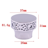 Buy cheap Metal Zamak perfume bottle caps fashion custom hollowed out multicolor perfume bottle caps from wholesalers