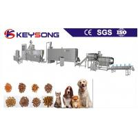 China Dog Cat Fish Feed Pet Food Making Machine Food Grade Stainless Steel 304 Low Energy Consumption on sale