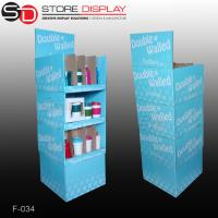 Buy cheap grocery store pop corrugated display stand for bottles from wholesalers