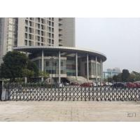 Buy cheap Security Retractable Automatic Gate One Piece Bended Tubular Profile With Photocell from wholesalers