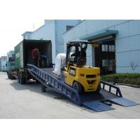 Buy cheap User Friendly Truck Dock Ramps , Movable Dock Ramp For Factories / Stations from wholesalers