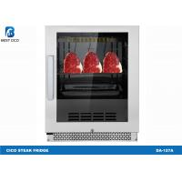 Buy cheap Silvery Reliable Mini Meat Dry Aging Refrigerator / Dry Aged Beef Cabinet from wholesalers