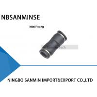 Buy cheap PU - C Compact One Touch Fitting Mini Fittings Pneumatic Fitting Air Plastic Fitting  Tube Union Straight Sanmin from wholesalers