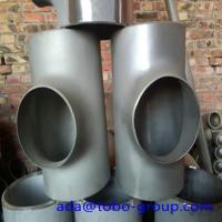 Buy cheap Seamless or weld Stainless Steel Tee 310s 9 04l A815 S31803 S32205 2205 F51 product