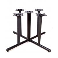 Buy cheap Outdoor Black Metal Table Legs Dining Room Table Base For Restaurant Table Base from wholesalers