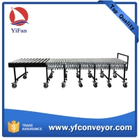 Wholesale Gravity Expandable Flexible Steel Roller Conveyor from china suppliers