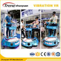 Amusement Park Cars Driving 9D Cinema Simulator With Interactive Vive Equipment