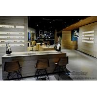 Buy cheap Optic eyeglass shop in grand design by natural oak wood display counters and Industrial wind weathering wooden cabinet from wholesalers
