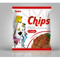 Full Color Printing Heat Seal Plastic Packaging Bag for Potato Chips Manufactures