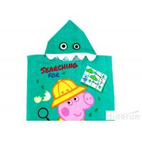 Buy cheap Customized Childrens Towelling Ponchos , Babies Swimming Towels With Hoods 400gsm from wholesalers