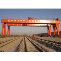 Buy cheap Double Beam Rail Mounted Gantry Crane For Automobile / Construction / Engineering Industries from wholesalers