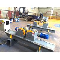 Buy cheap Small 5000 kg Pipe Welding Rotator 380V pipe turning rolls With Foot Pedal Control from wholesalers