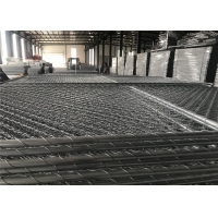 Buy cheap 6'x9.5' temporary panel 2-3/8 chain mesh aperture 12.5ga wire from wholesalers
