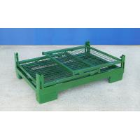 Wholesale Foldable Wire Container Storage Cages Warehouse Material Handling from china suppliers