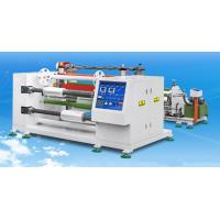 Wholesale 1500kg Rotary Film Slitting Machine For High Active Computer PE / PVC Stretching Film from china suppliers