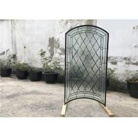 Buy cheap S010 Patterned Decorative Bathroom Window Glass Heat Insulation Various Shape from wholesalers