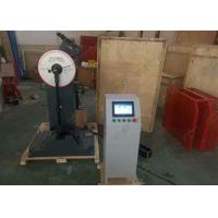 Wholesale Digital Charpy Impact Testing Machine , Pendulum Impact Tester LCD Touch Screen from china suppliers