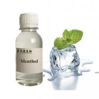 Buy cheap Menthol Flavor Fragrance Pharmaceutical Grade High Purity Concentrate from wholesalers