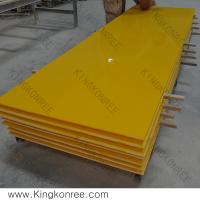 Buy cheap Easy Maintaining Acrylic Solid Surface Sheets 3680mm * 760mm from wholesalers