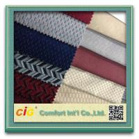 Car Seat Fabric Emboss Foamed Polyester Cheap Pirces Manufactures