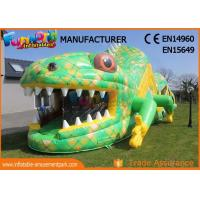 Wholesale Customized Size Adult Inflatables Obstacle Course With Digital Painting from china suppliers