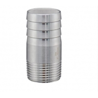 Buy cheap GB Stainless Steel Pipe Fittings Swage Flexible Male Polished Round Hose Nipple from wholesalers