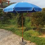 Buy cheap Big Sun Sea Vented Beach Umbrella , Heavy Duty Wind Resistant Beach Umbrella from wholesalers