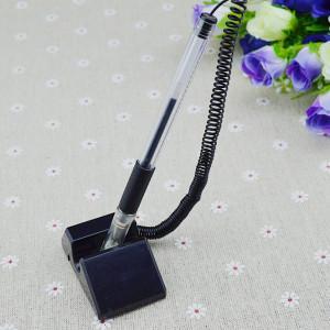 China Desk Gel pen,Promotional table gel-ink pen with cap,black counter gel-ink pen, on sale