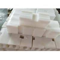 Buy cheap 2 inch thick PE1000 CNC machining plastic wear block smooth surface from wholesalers