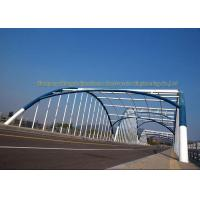 Buy cheap Q235 Q345 Frame Multi Trusses Prefab Steel Frame Bridge With Drawing product