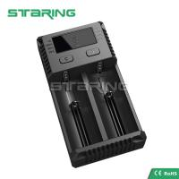 Buy cheap 2017 Original New Nitecore Intellicharger I2 1A Dual USB Charger 18650 Li-ion Battery Charger from wholesalers