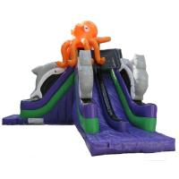 Wholesale Custom Made Mega Octopus Inflatable Water Slide Pool Toboggan Pour Piscine from china suppliers