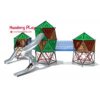 Buy cheap Square Type Rope Climbing Playground Equipment , Climbing Structure For Toddlers from wholesalers