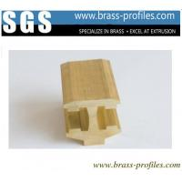 Buy cheap Brass Extrusion Sanitary Ware Profiles Special Shaped Copper Alloy Extrusion from wholesalers