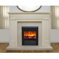 Buy cheap Pure white marble fireplace statue carving from wholesalers