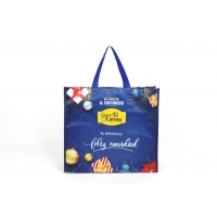 Buy cheap Waterproof PP Woven Recyclable Tote Bag 40*30*12cm Reusable Machine Printing from wholesalers