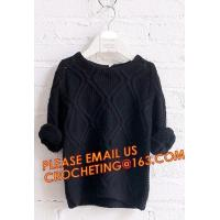 Buy cheap First choice elegant new knitted kids long girls pullover sweater, Appealing look trendy designs for children pullover s from wholesalers