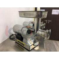 Buy cheap 304 Stainless Steel Electric Meat Grinder with 3 Grinding Plates / Sausage Tubes from wholesalers